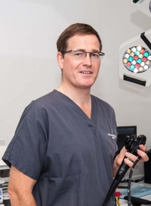 Thursday 23rd April 2013 Portrait of Dr Jeremy Tibble, Consultant Gastroentologist at Montefiore Hospital for Spire Health Care. Brighton, East Sussex, UK